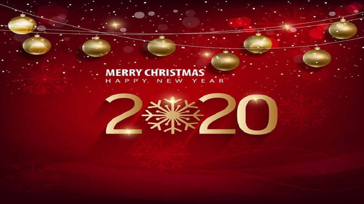 Happy New Year 2020, merry christmas. Happy Chinese New Year 202